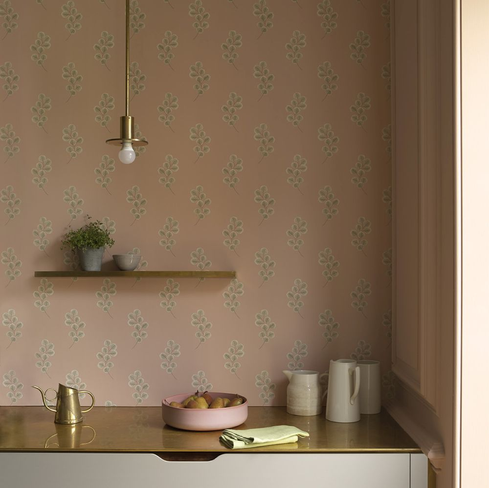 Honesty Wallpaper - Temple - by Paint & Paper Library