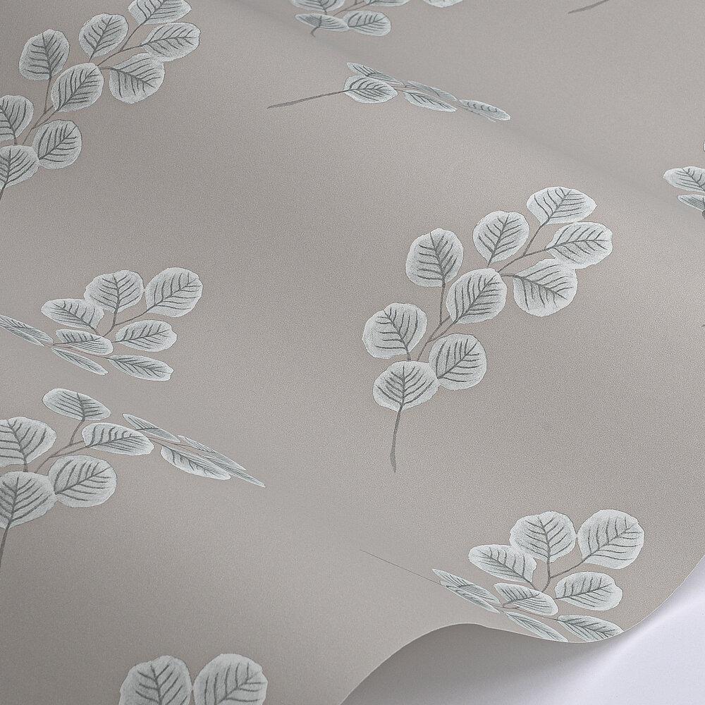 Honesty Wallpaper - Slate V - by Paint & Paper Library