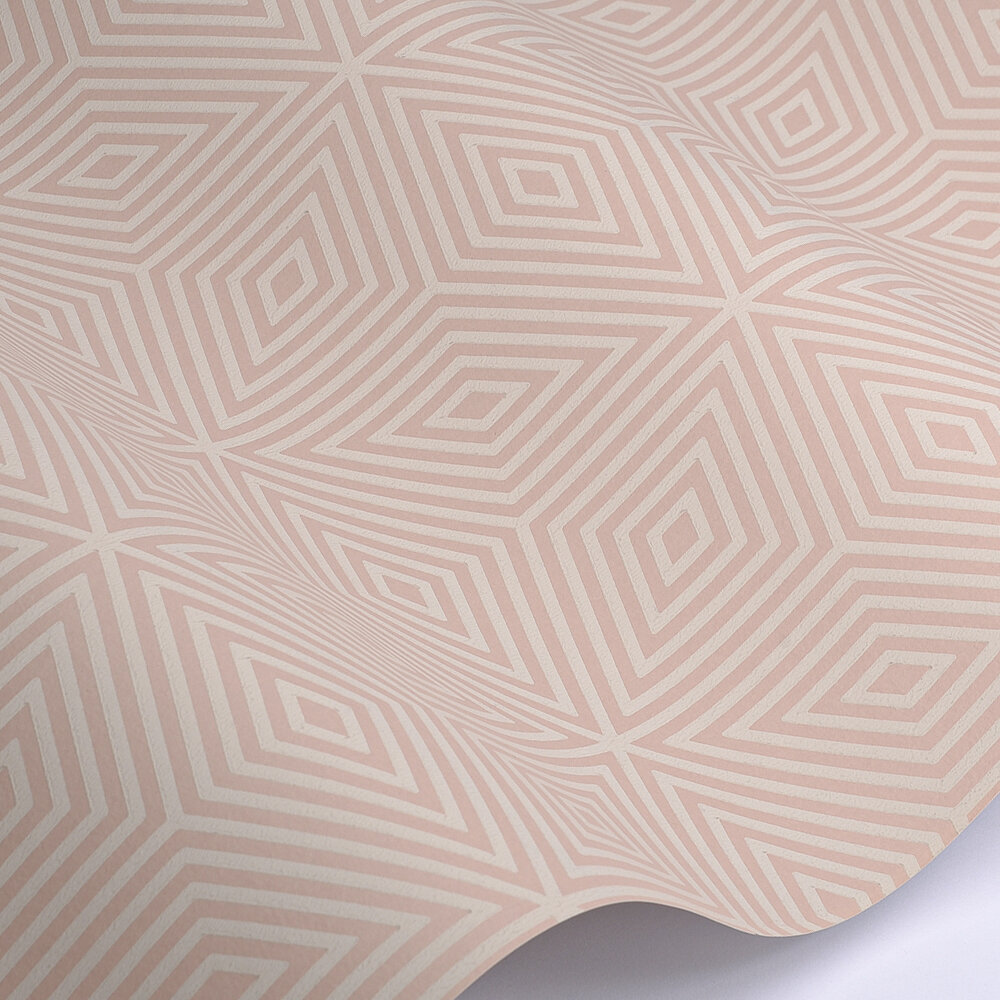 Paint & Paper Library Marquetry Tile Temple Wallpaper - Product code: 0360MATEMPL