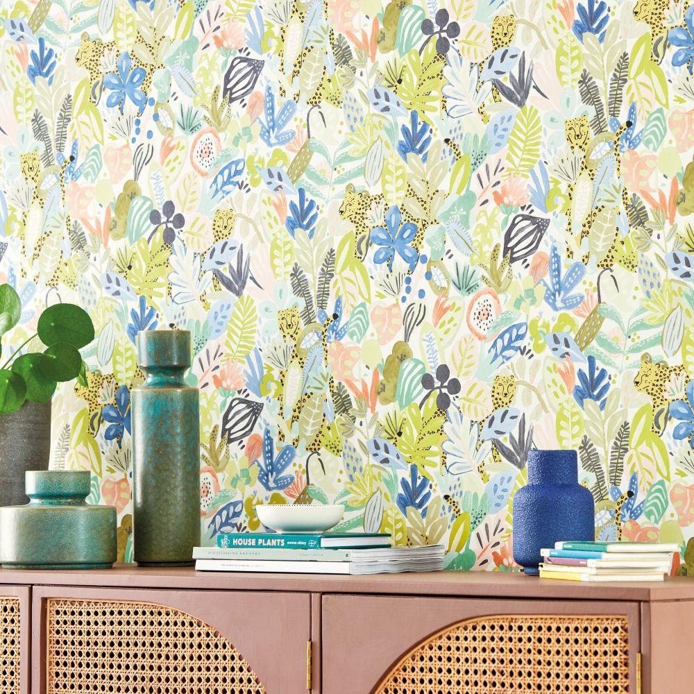 Kumana Wallpaper - Tropicana - by Scion