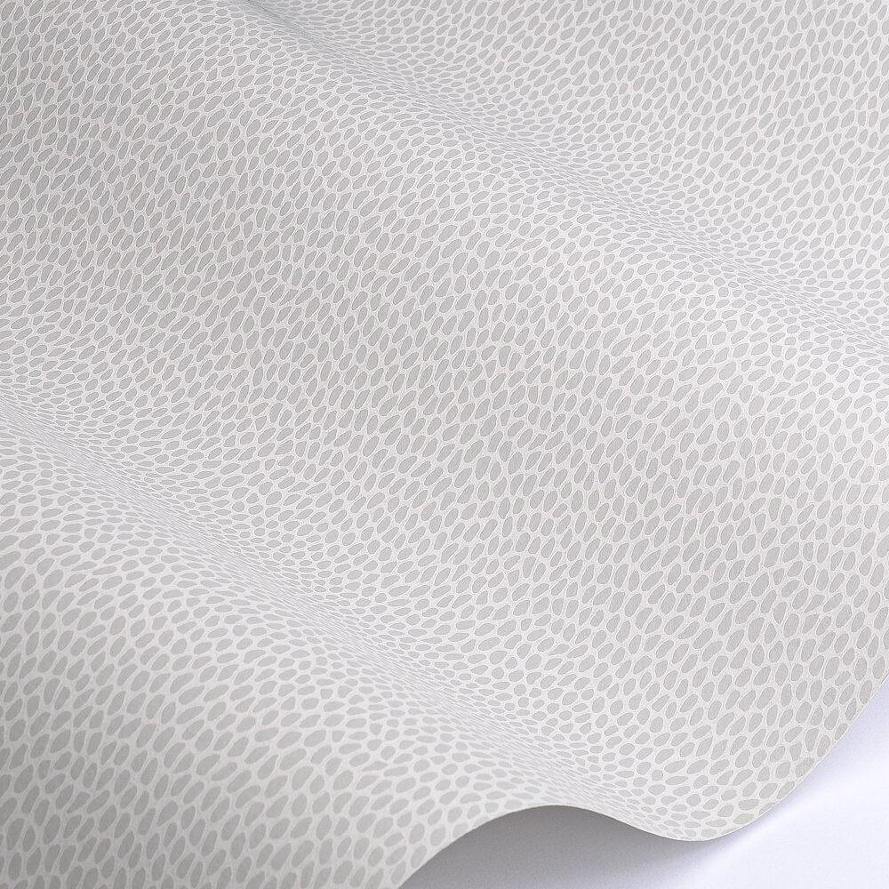 Seedpod Wallpaper - Salt - by Paint & Paper Library