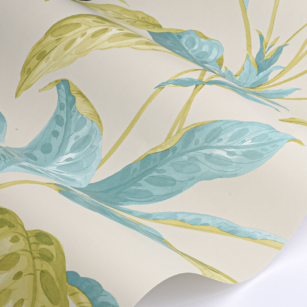 Tropicane Wallpaper - Scallion - by Paint & Paper Library