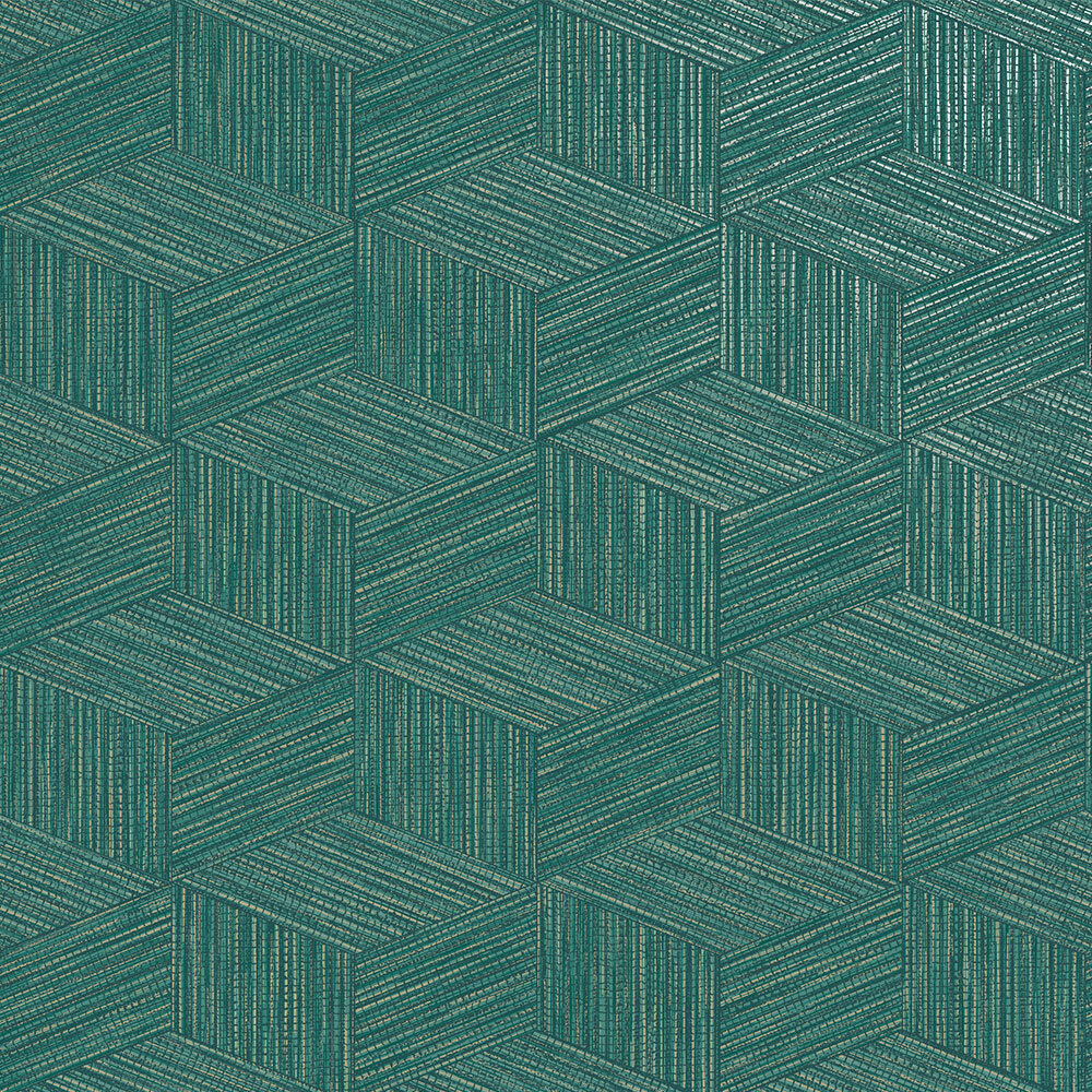 Albany Bakau Teal Wallpaper - Product code: 65644
