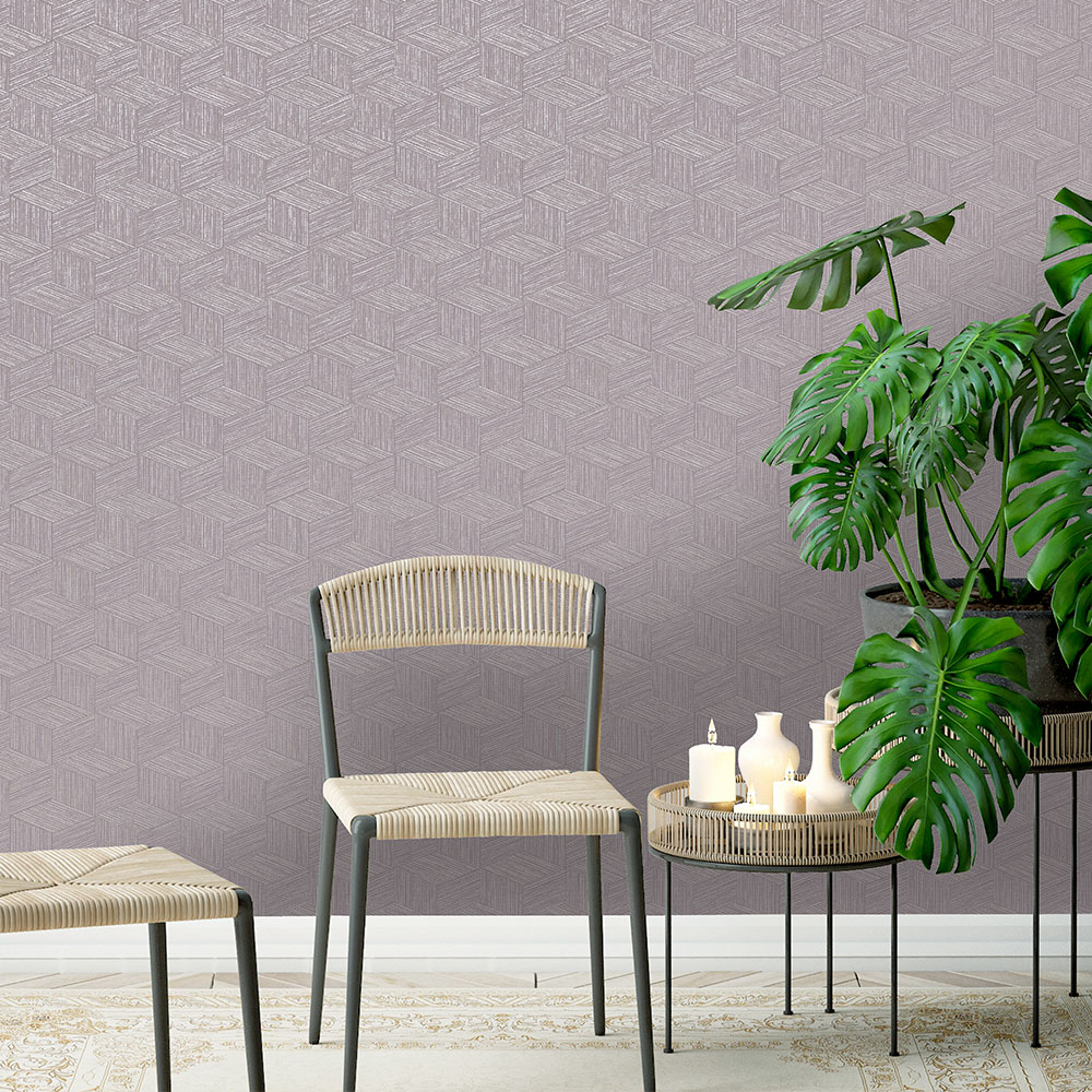 Bakau Wallpaper - Heather - by Albany