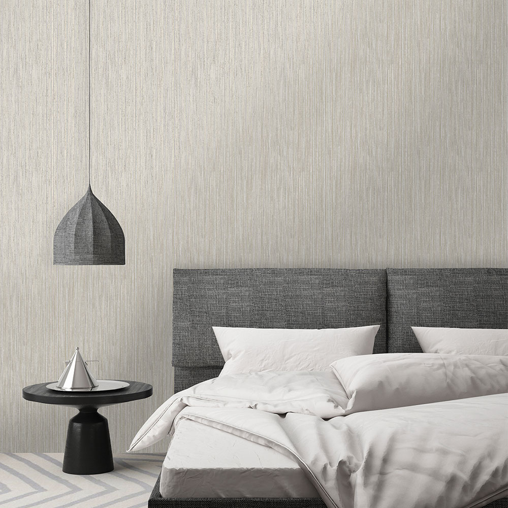 Adeline Wallpaper - Grey/ Gold - by Albany