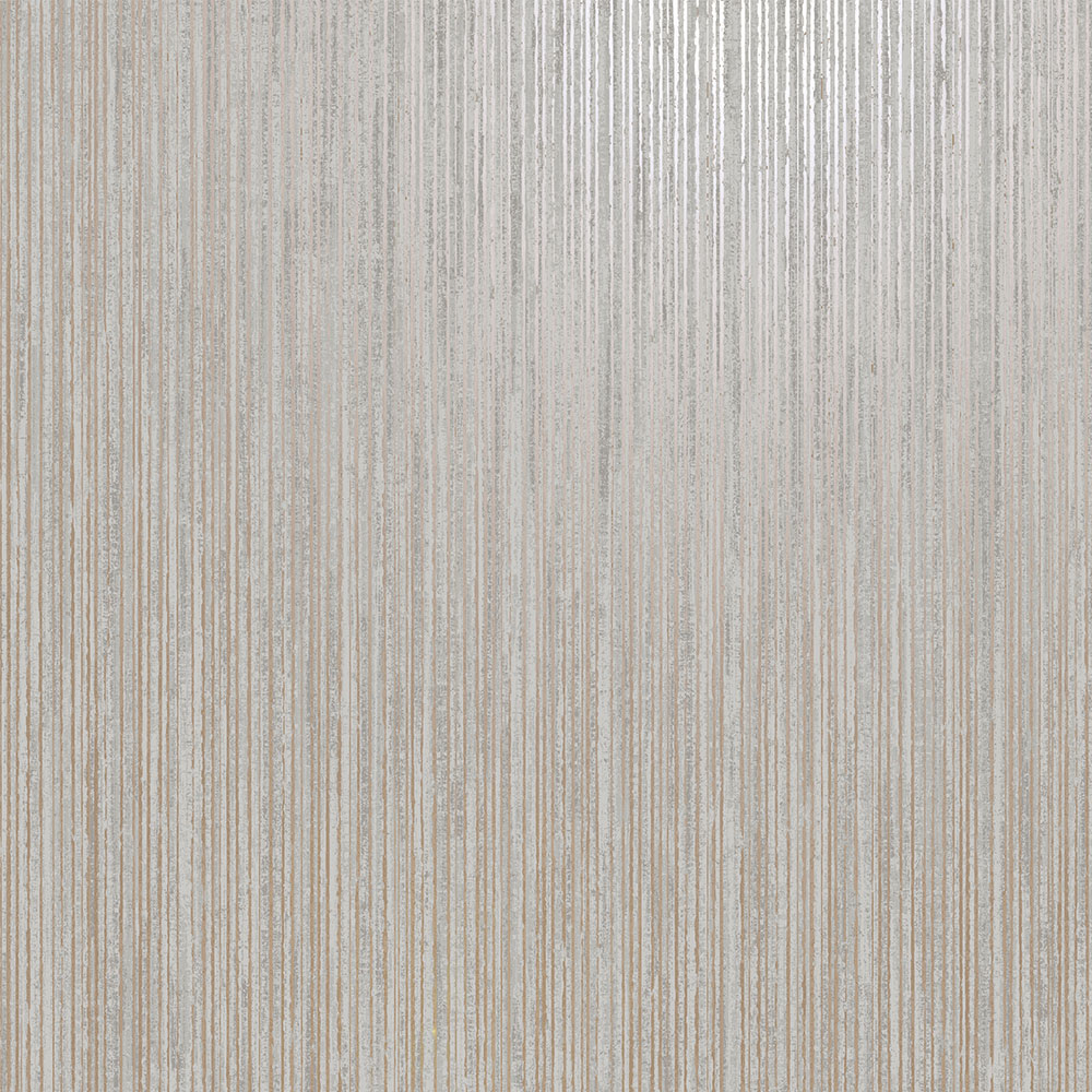 Adeline Wallpaper - Charcoal/ Rose Gold - by Albany