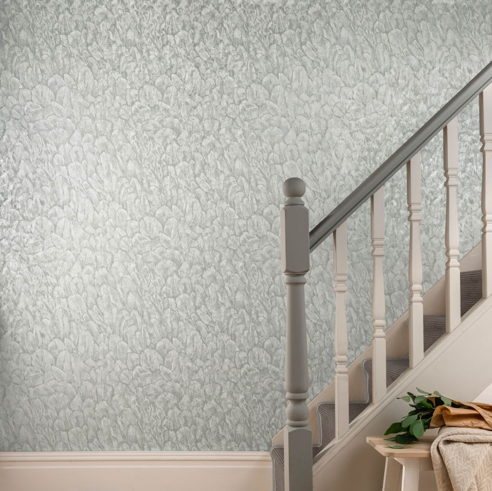 1838 Wallcoverings Tranquil Mist Wallpaper - Product code: 1804-119-05