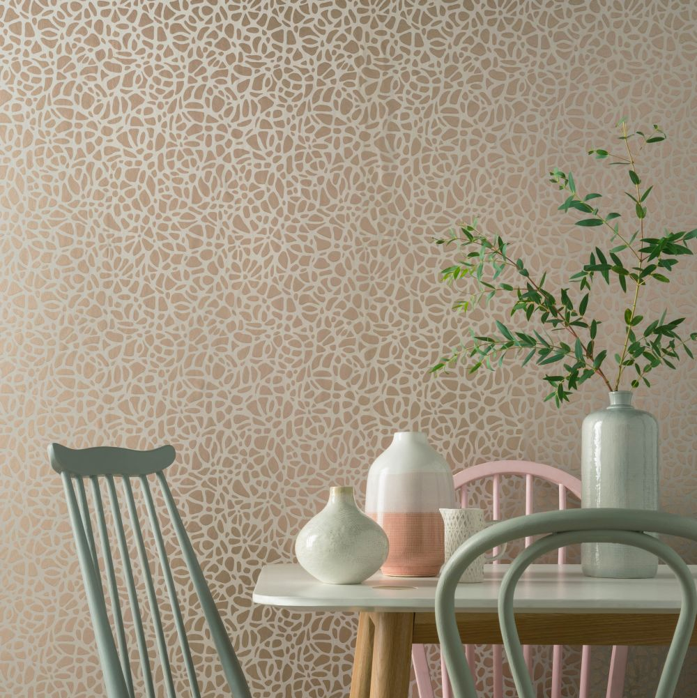 Pebble Wallpaper - Beach - by 1838 Wallcoverings