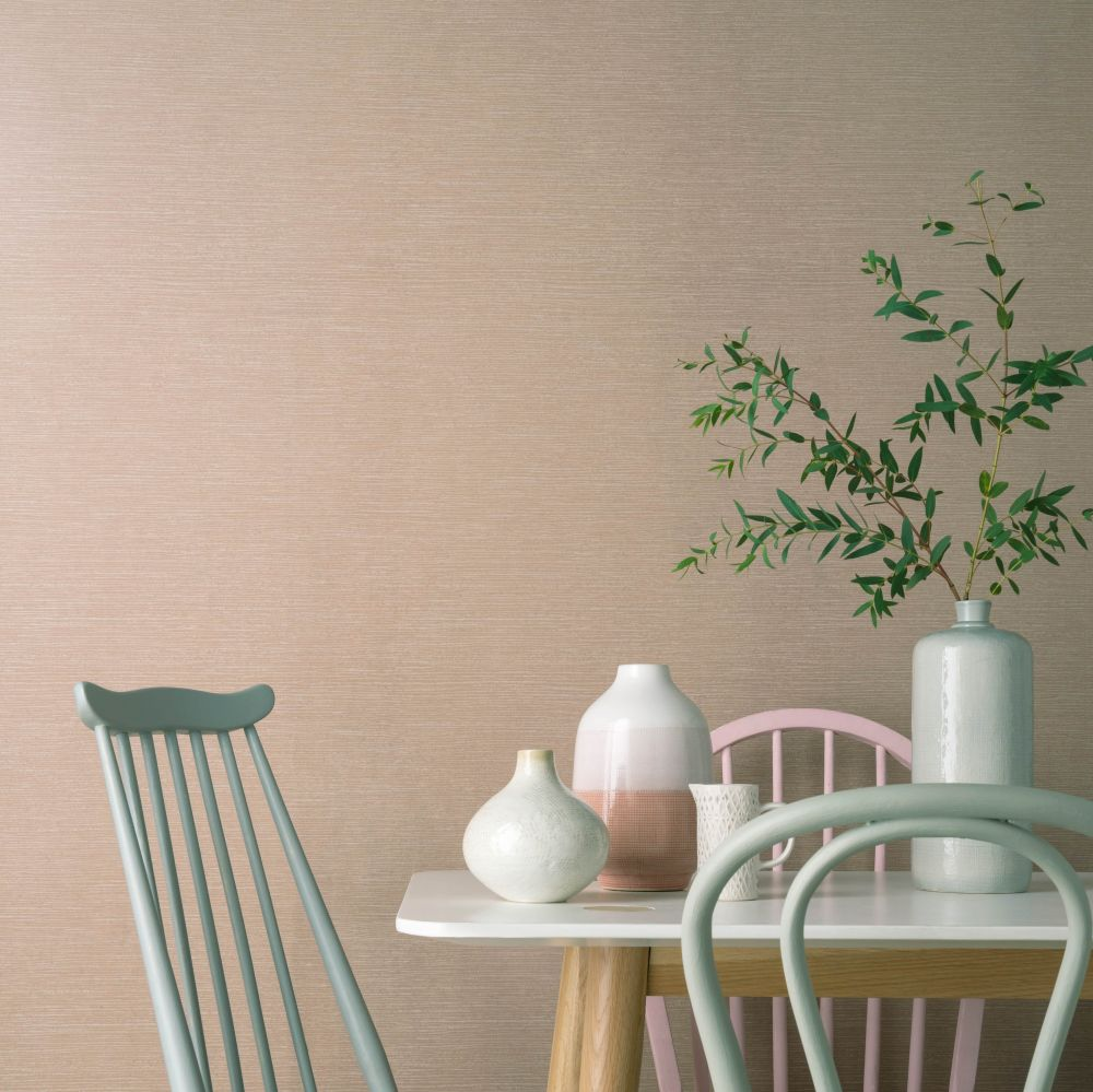 1838 Wallcoverings Raffia Beach Wallpaper - Product code: 1804-122-05