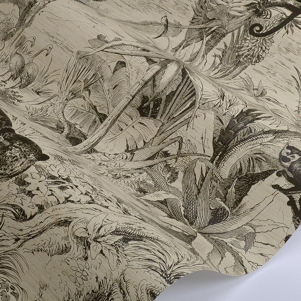 Manuel Canovas Salvator  Black Wallpaper - Product code: 03093-01