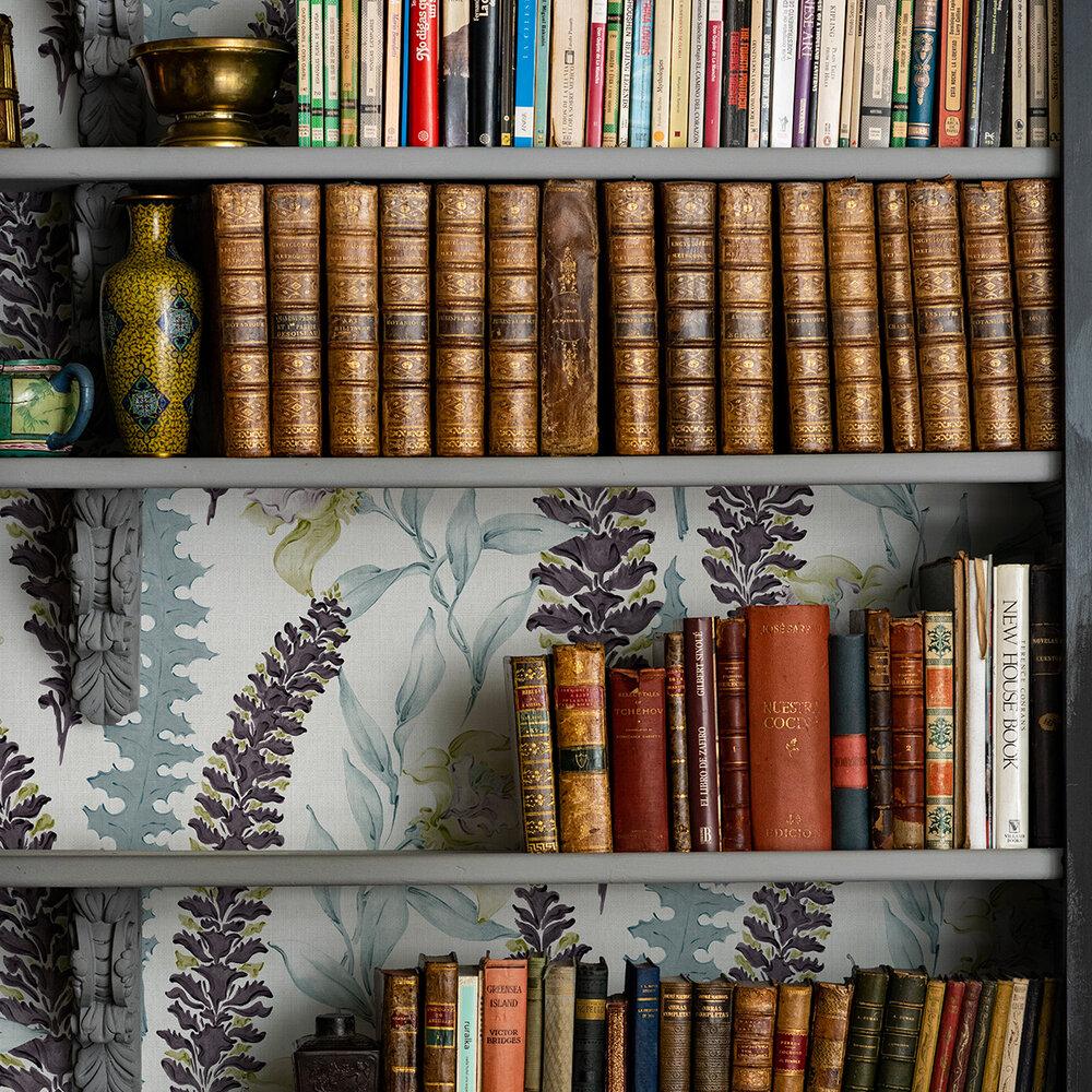 Floral Wallpaper - Pistachio - by Coordonne