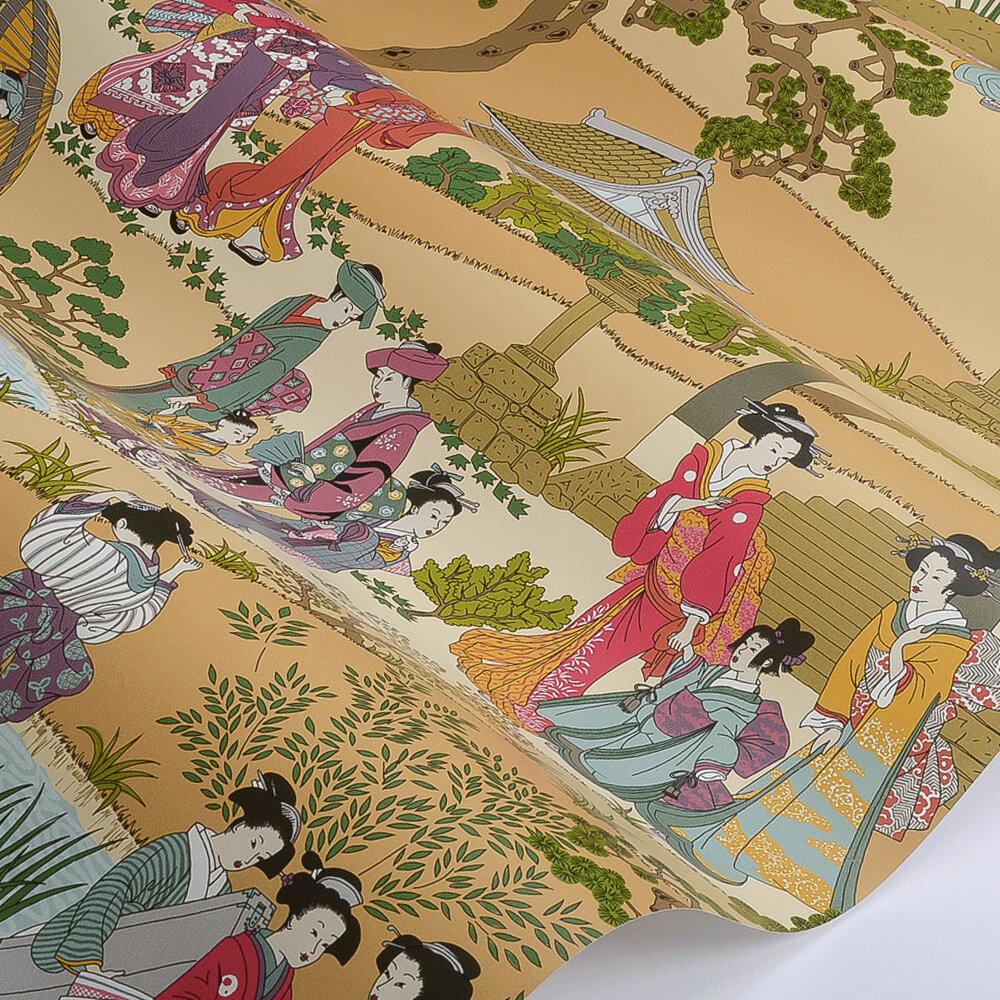 Manuel Canovas Geishas Spice Wallpaper - Product code: 03092-03