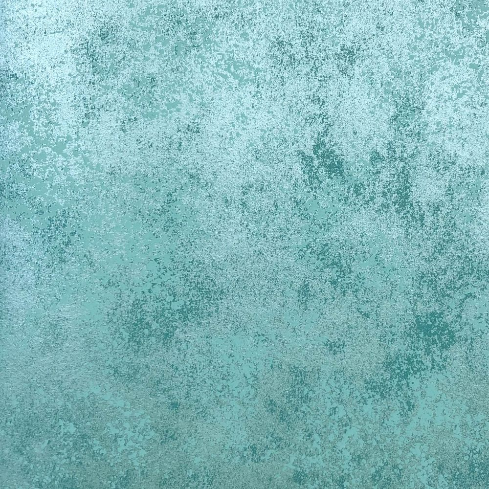 Fenton Wallpaper - Aquamarine - by 1838 Wallcoverings