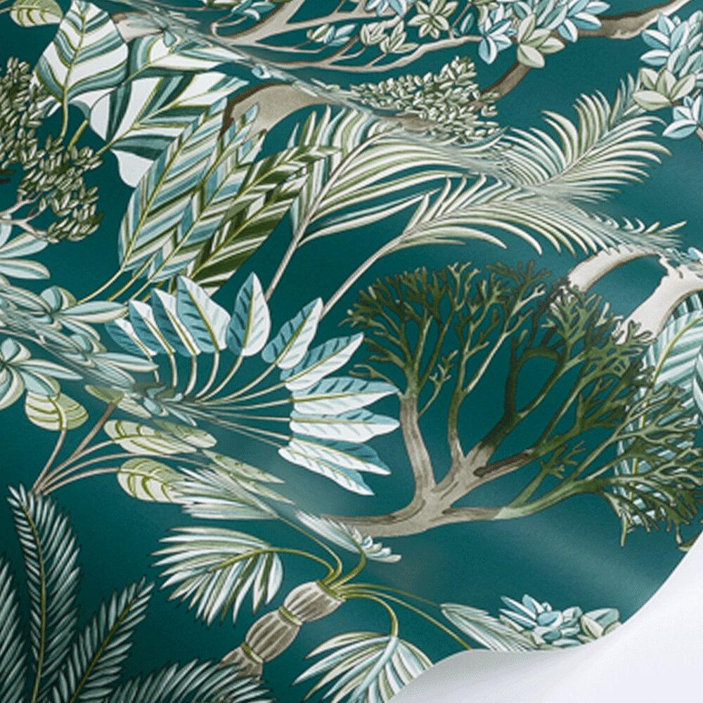 Manuel Canovas Morny Teal Wallpaper - Product code: 03094-03