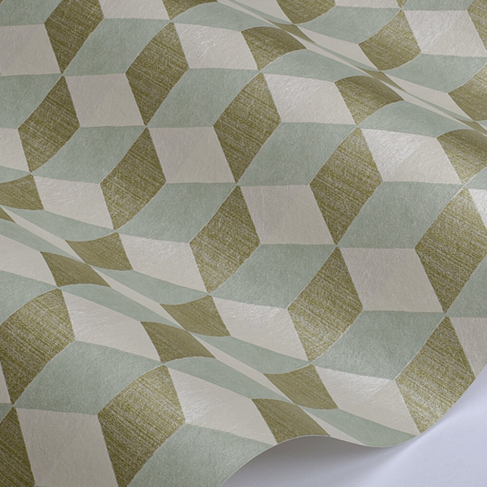 Manuel Canovas Vallauris Celadon Wallpaper - Product code: 03098-01