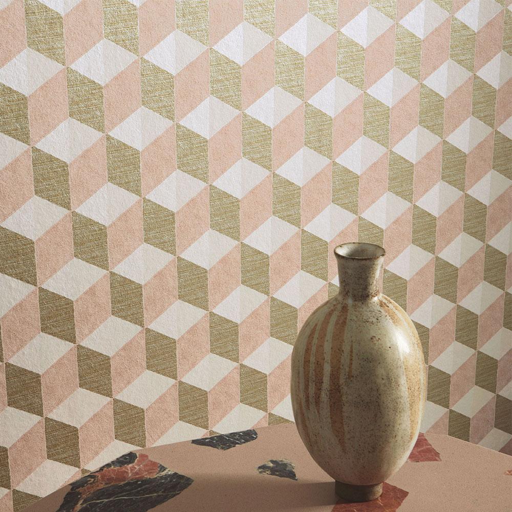 Manuel Canovas Vallauris Peach Wallpaper - Product code: 03098-03