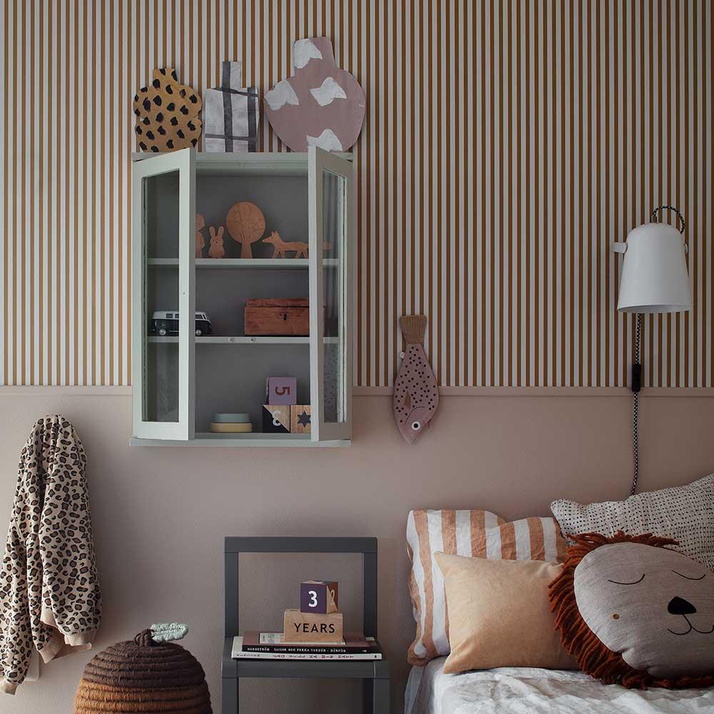 Estelle Wallpaper - Mustard - by Sandberg