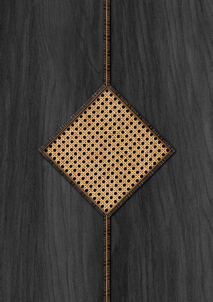 Diamond Webbing Wallpaper - Grey - by NLXL