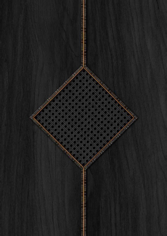 Diamond Webbing Wallpaper - Black - by NLXL