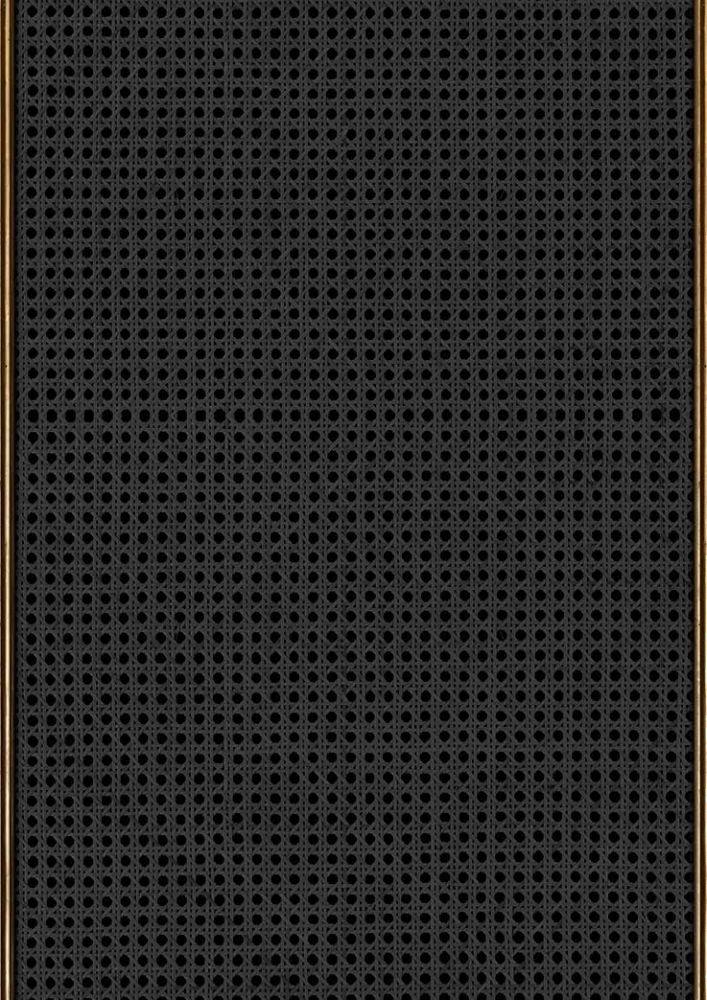 Webbing Wallpaper - Black - by NLXL