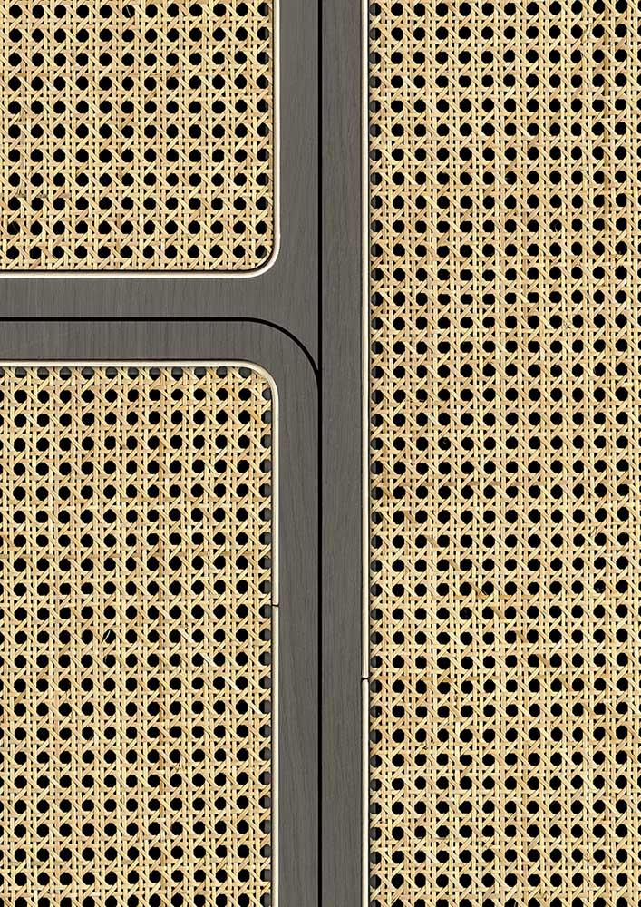 Angle Webbing Wallpaper - Grey - by NLXL