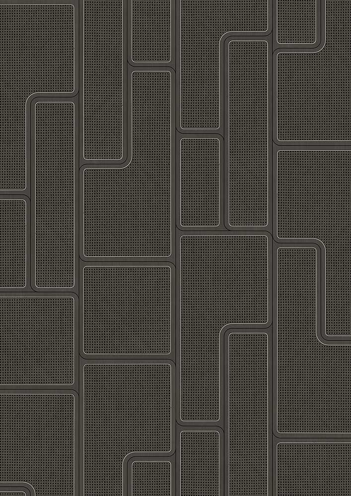 Angle Webbing Wallpaper - Black - by NLXL