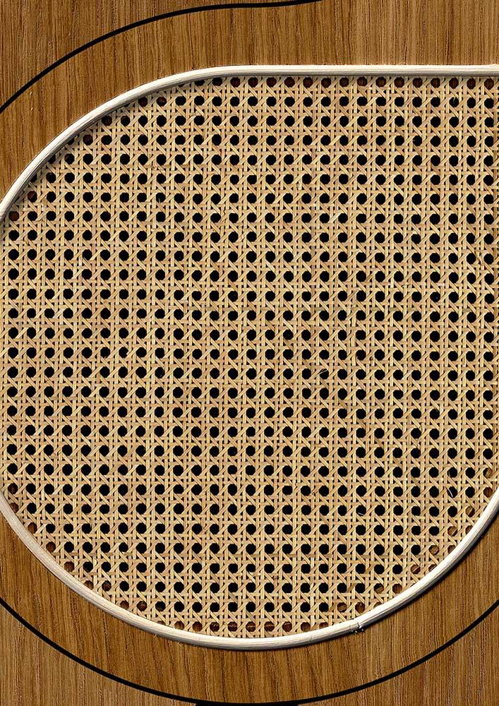 Drops Webbing Wallpaper - Oak - by NLXL