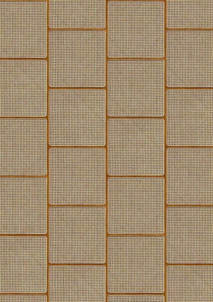 Square Webbing Wallpaper - Oak - by NLXL