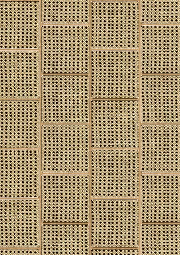 Square Webbing Wallpaper - Maple - by NLXL