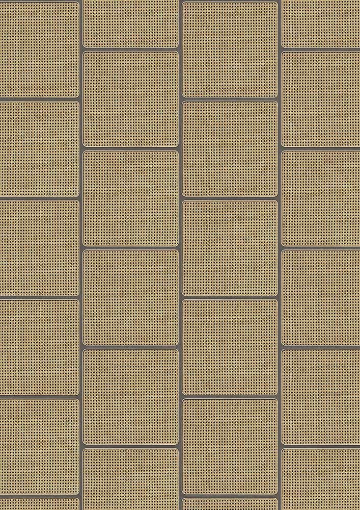 Square Webbing Wallpaper - Grey - by NLXL