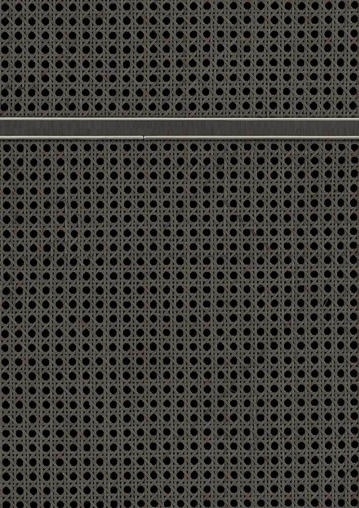 Square Webbing Wallpaper - Black - by NLXL