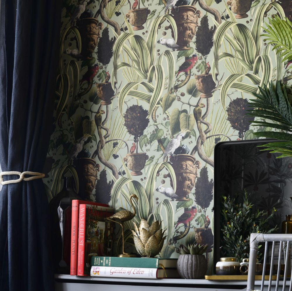 Exotic Menagerie Mural - Light - by Mind the Gap