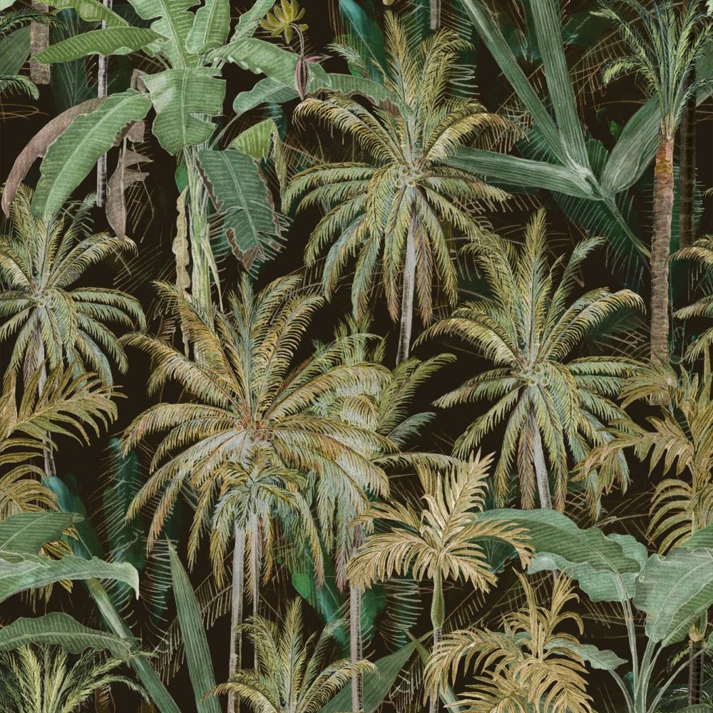 The Jungle Mural - Anthracite - by Mind the Gap