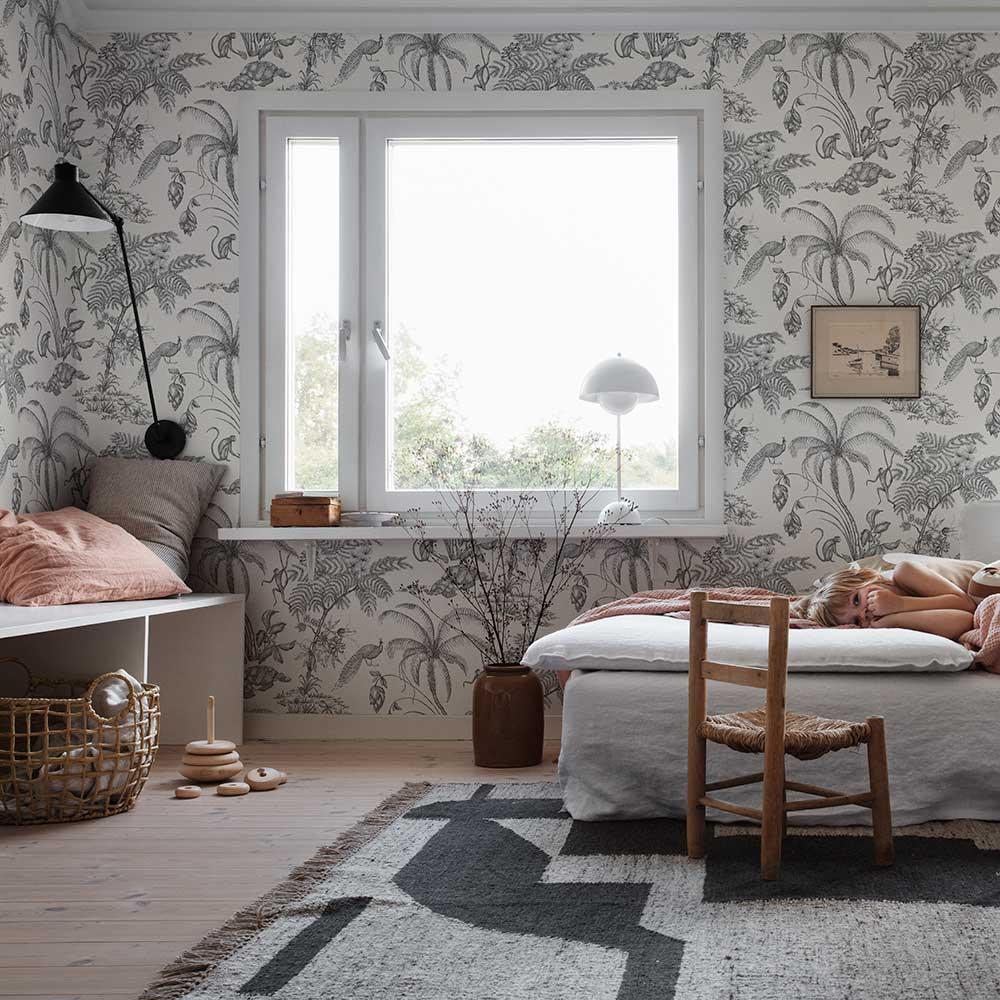 Moa Wallpaper - Sandstone - by Sandberg