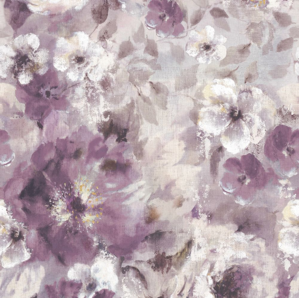 1838 Wallcoverings Bloom  Magenta Mural - Product code: 1906-130-02