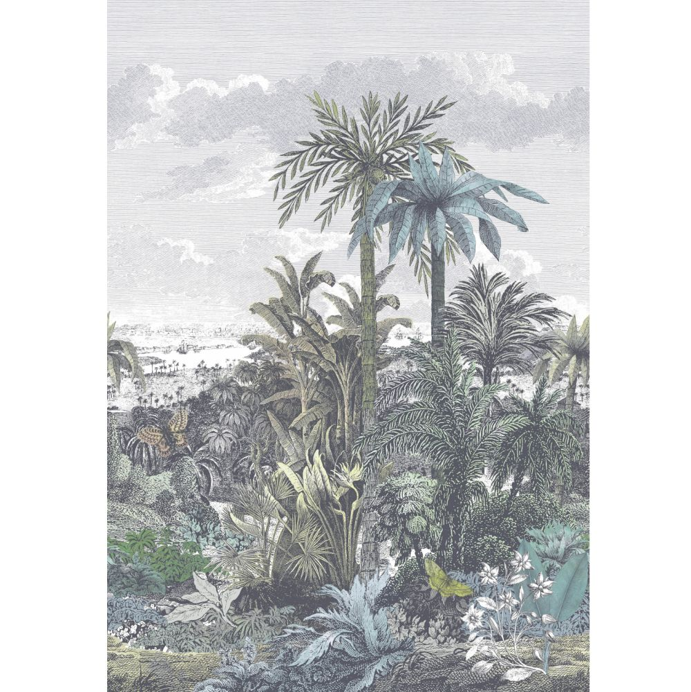 1838 Wallcoverings Paradise Found Emerald Mural - Product code: 1906-133-01