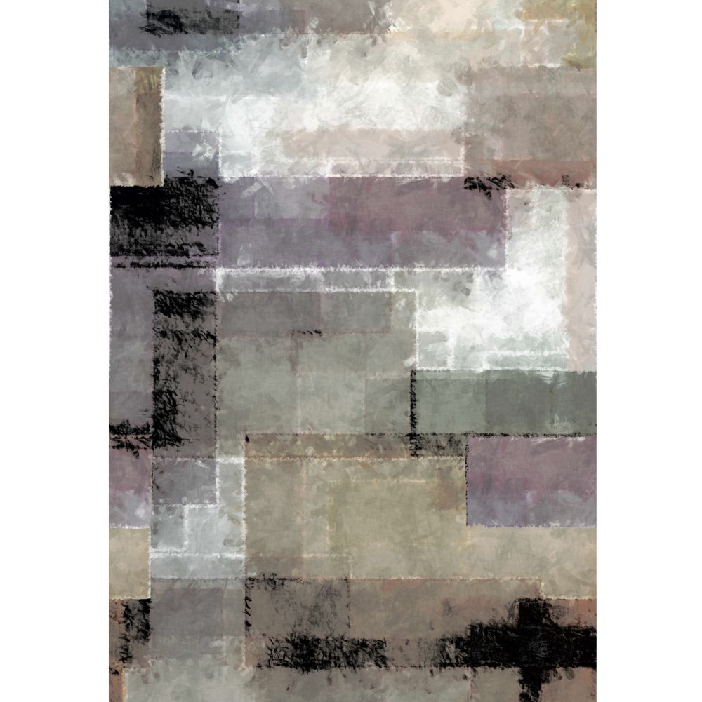 Spectrum Mural - Mocha - by 1838 Wallcoverings