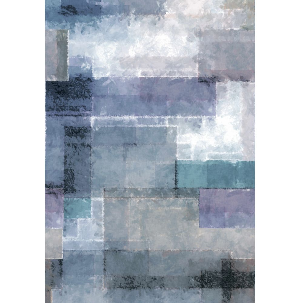 Spectrum Mural - Indigo - by 1838 Wallcoverings