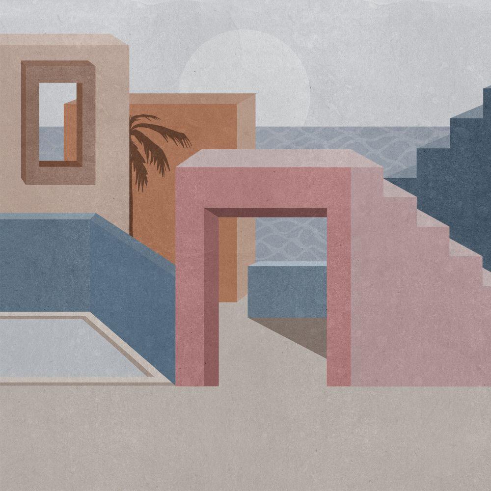 La Muralla - Pink - by Coordonne