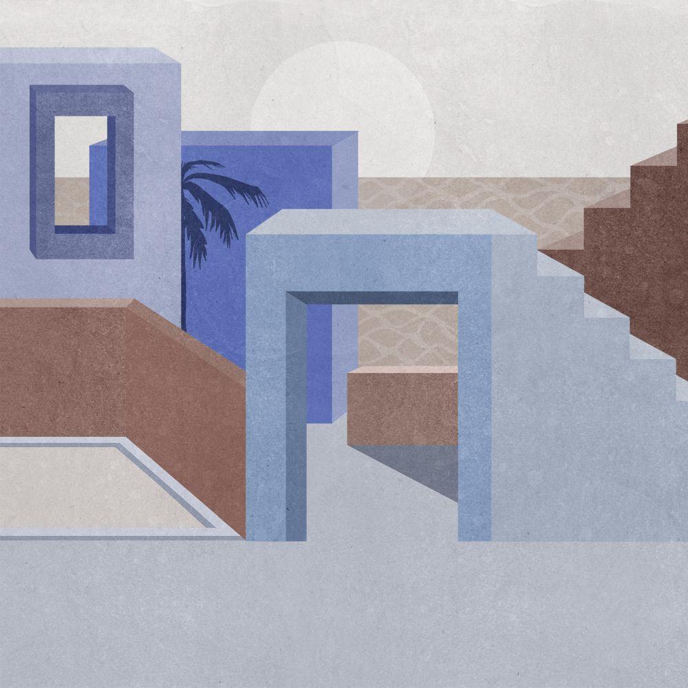 La Muralla - Blue - by Coordonne