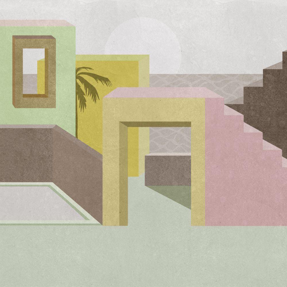 La Muralla - Lime - by Coordonne