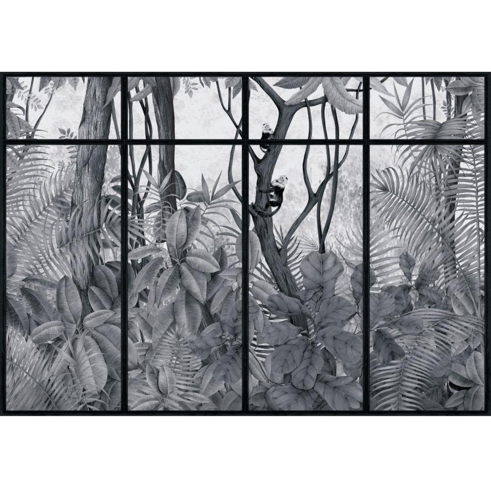 Casa de Vidro Mural - Off Frame - by Coordonne