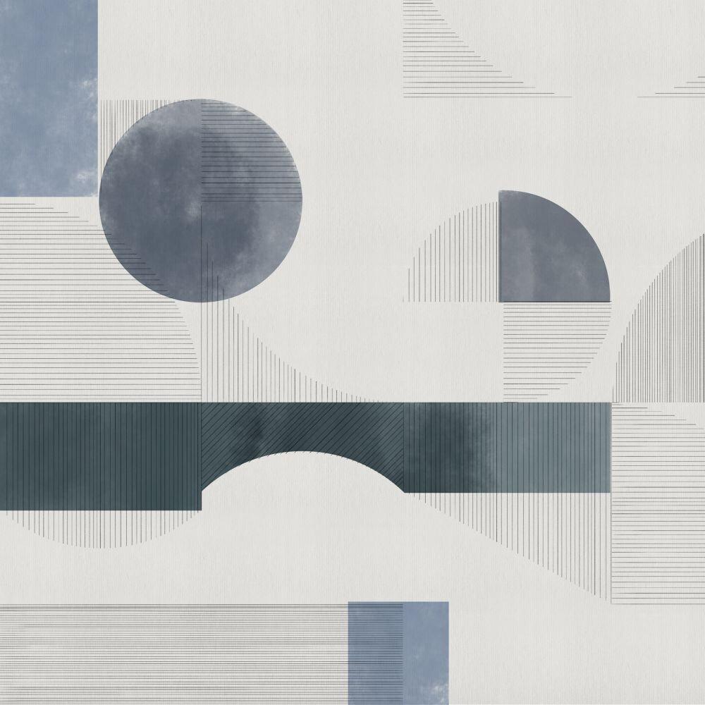 Azulejos Mural - Blue - by Coordonne