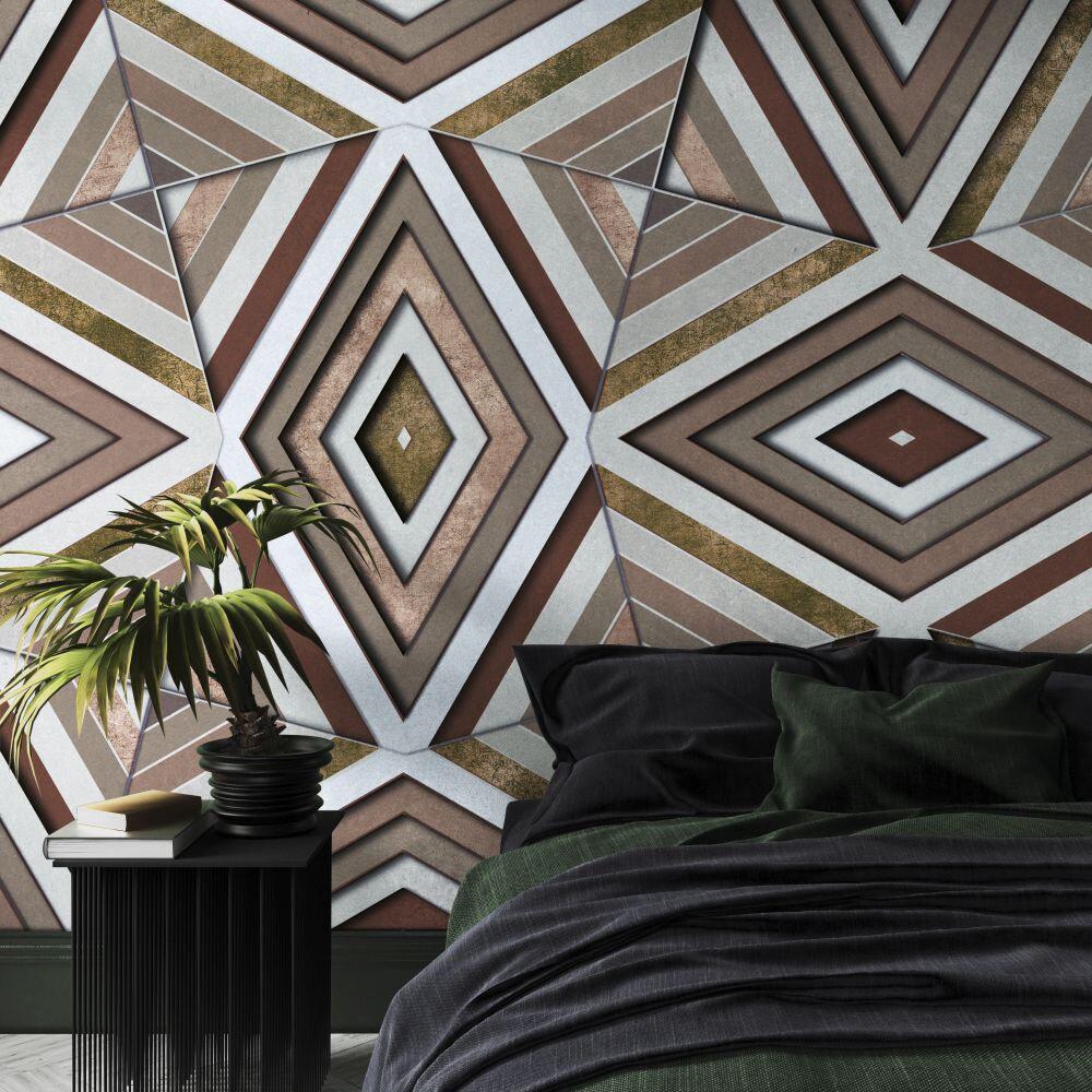 Rubik Mural - Terra - by Coordonne