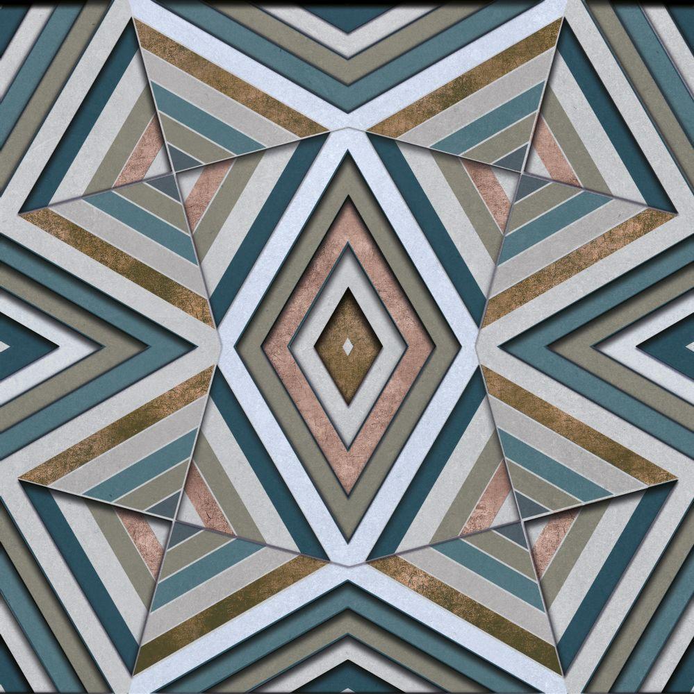 Rubik Mural - Gold - by Coordonne