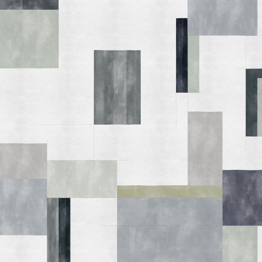 Color Study Mural - Grey - by Coordonne