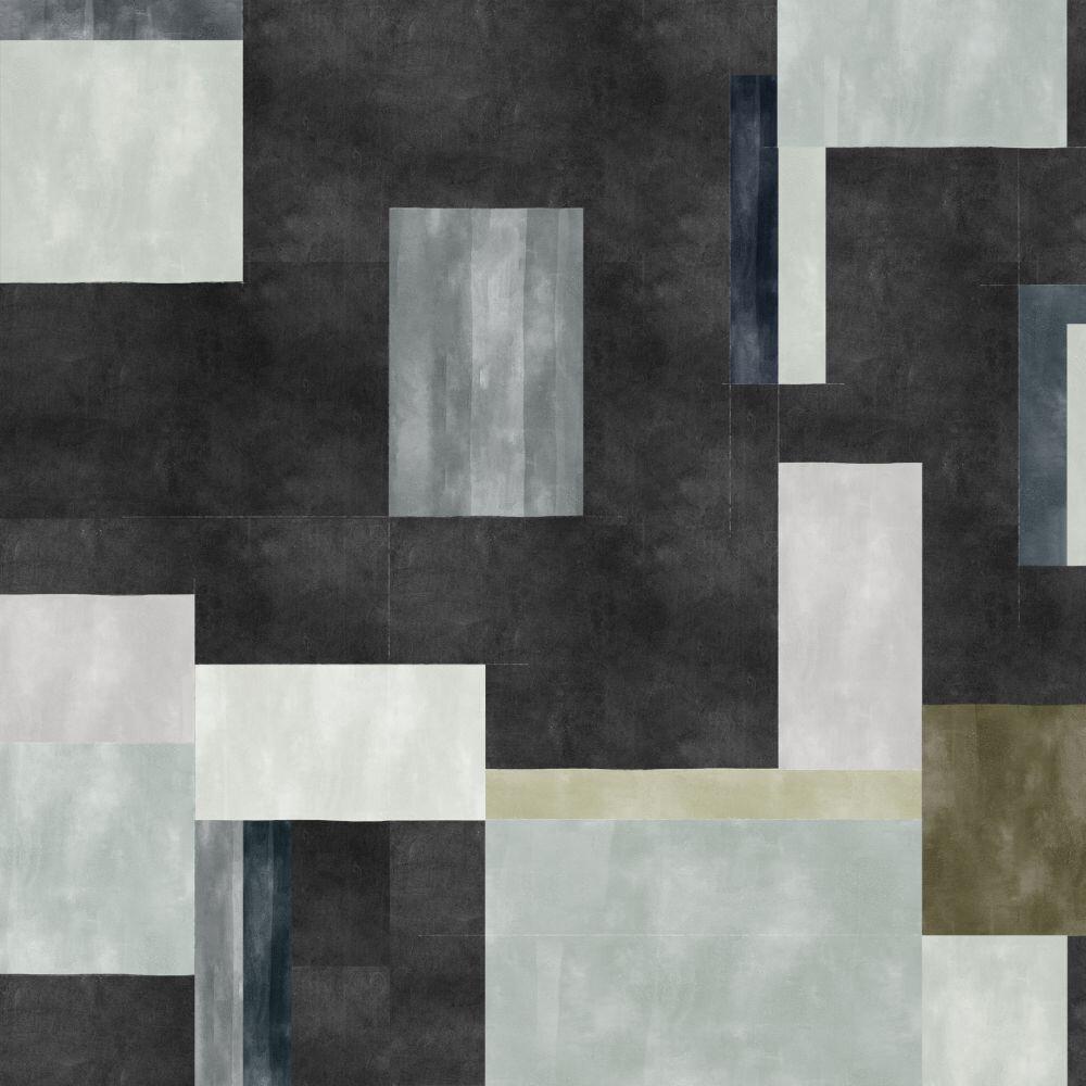 Color Study Mural - Black - by Coordonne