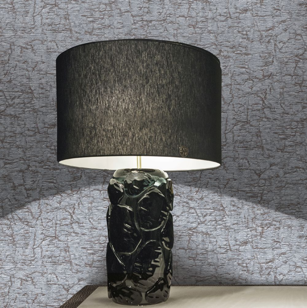 Unito Watamu Wallpaper - Grey - by Roberto Cavalli