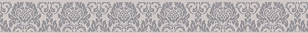 Damask Border - Grey - by Albany