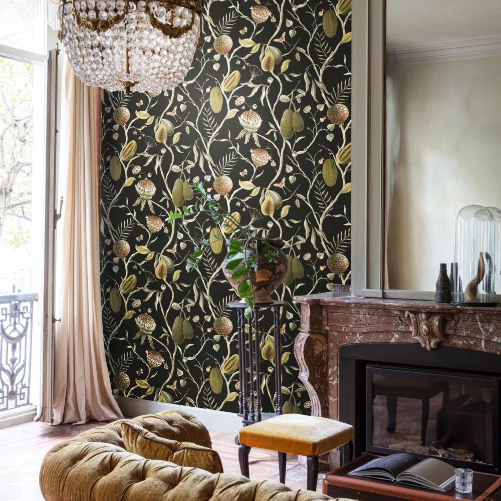 Papaya Wallpaper - Kombou - by Khrôma by Masureel